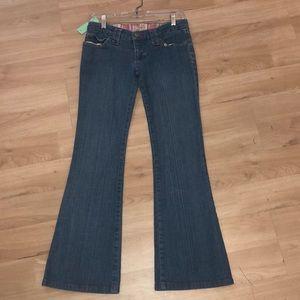Frankie B flare jean w/ heart ❤️ pockets